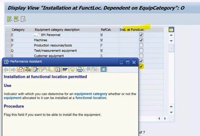SAP PM 初级系列9 - 定义功能位置的安装  图3