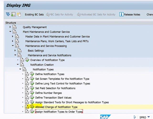 SAP PM 初级系列10 - 维护通知单相关的配置  图7
