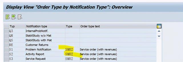 SAP PM 初级系列10 - 维护通知单相关的配置  图9