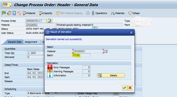 SAP Batch Derivation功能初探 图4