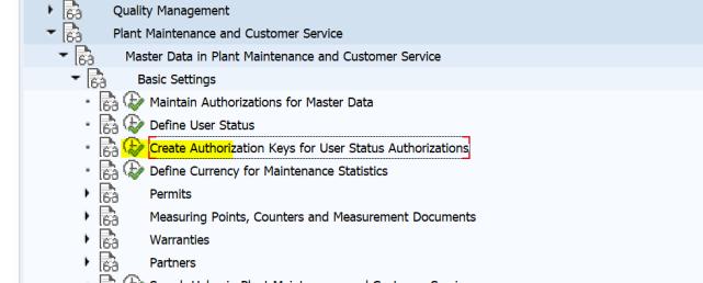 SAP PM 初级系列3 - 主数据相关的基础设置  图2