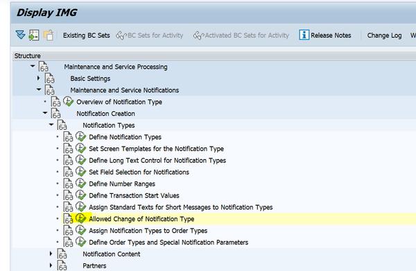 SAP PM 初级系列10 - 维护通知单相关的配置  图5