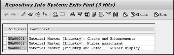SAP ABAP 客户退出 图5