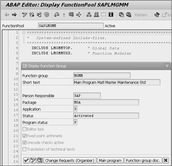 SAP ABAP 客户退出 图3