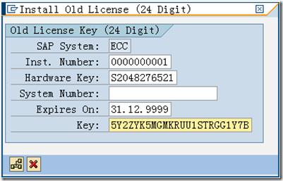SAP License:SAP ECC6安装系列五:安装后 License 的处理 图4