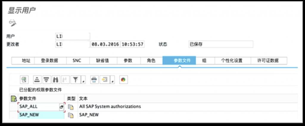 SAP License数据安全: SAP 权限的特殊控制方法 图4