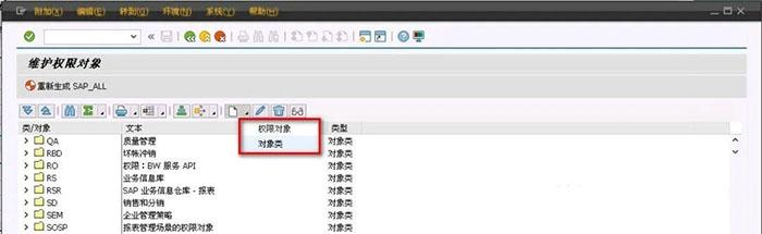 SAP License:SAP自定义权限对象 图6