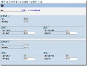 SAP License:关联方跨公司交易的自动清帐与实现 图2