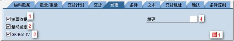 "SAP License:PO中""最终发票""的应用与理解 图2"