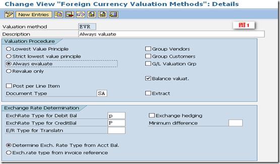 SAP License:中国会计准则下的SAP研究——外币评估篇 图2