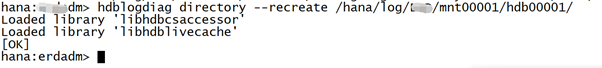 SAP License:HANA在线日志被误删了怎么办? 图13
