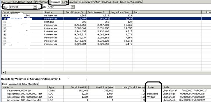 SAP License:HANA在线日志被误删了怎么办? 图4